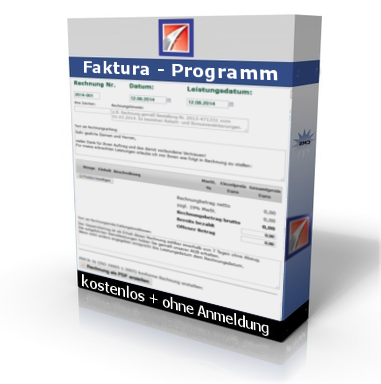 Online Rechnungsprogramm ohne Anmeldung